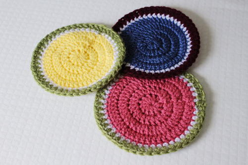 Summery Hot Pads Free Crochet Pattern