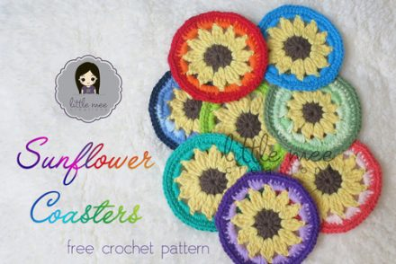 Sunflower Granny Square Free Crochet Pattern - Craft ideas for ...