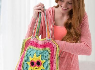 Sunshine Bag Free Crochet Pattern