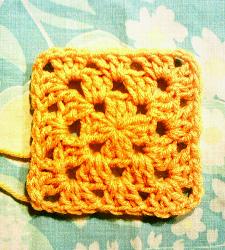 Super Simple Granny Square Free Crochet Pattern