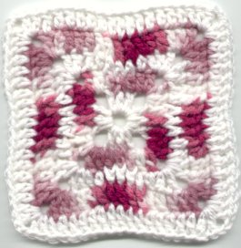 Swanda Granny Square Free Crochet Pattern