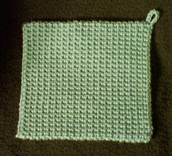 The Best Potholder Free Crochet Pattern