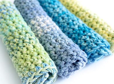 Thick Dishcloths Free Crochet Pattern