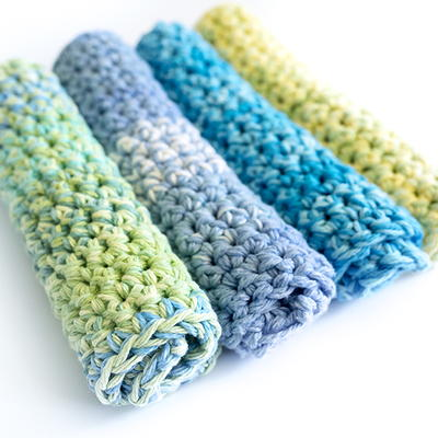 Thick Dishcloths Free Crochet Pattern