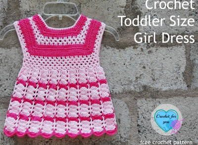 Toddler Dress Free Crochet Pattern