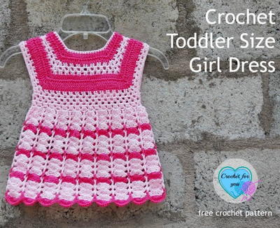 Toddler Dress Free Crochet Pattern