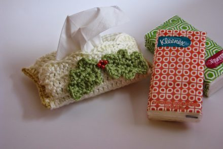 Travel Size Tissue Cover Free Crochet Pattern