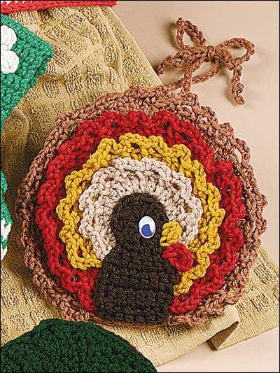 Turkey Towel Topper Free Crochet Pattern
