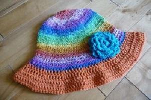 Ultimate Summer Hat Free Crochet Pattern