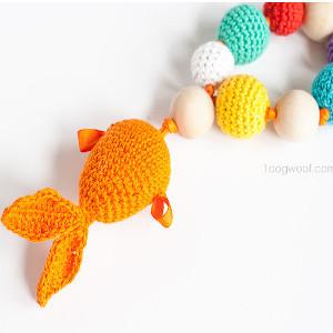 Unique Teething Ring Free Crochet Pattern