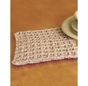 Waffle Dishcloth Free Crochet Pattern