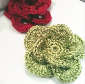Wagon Wheel Flower Free Crochet Pattern