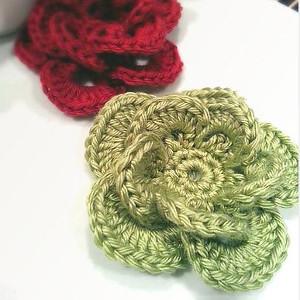 Wagon Wheel Flower Free Crochet Pattern