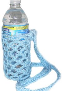 Water Bottle Holder Free Crochet Pattern