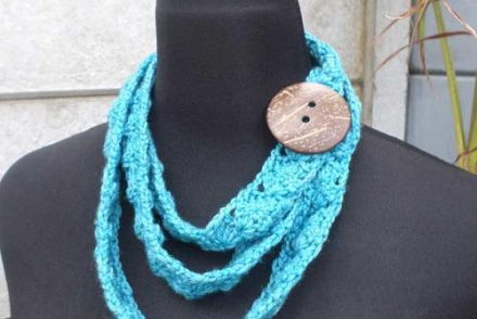 Wear It Your Way Scarflet Free Crochet Pattern