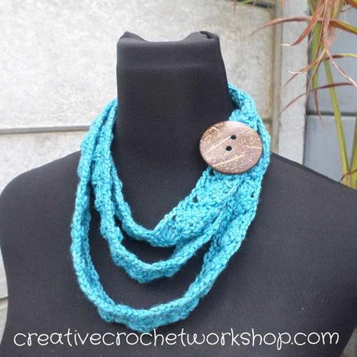 Wear It Your Way Scarflet Free Crochet Pattern