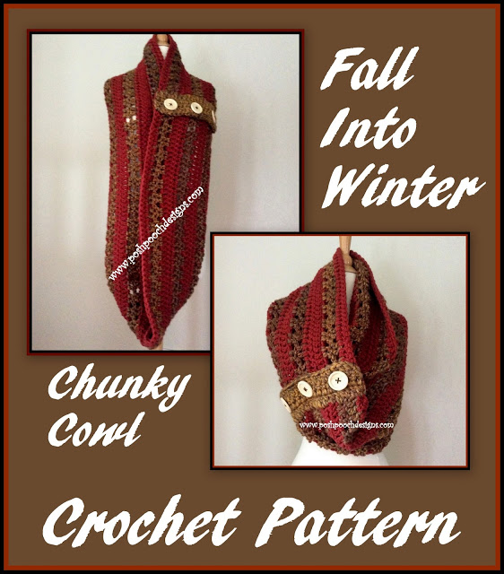 Winter Chunky Cowl Free Crochet Pattern